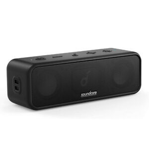 Anker Soundcore 3 Portable Wireless Bluetooth Speaker Stereo Sound Outdoor Bass
