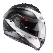 NEU HJC Helm IS-MAX II 2 Magma schwarz weiss XS = 53/54 Klapphelm Sonnenblende