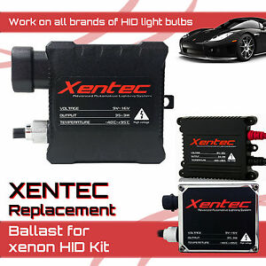 One Xentec HID Kit 's Replacement Ballast Work All Bulb Size All Color All Brand
