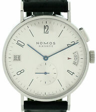 Nomos Glashütte Tangomat GMT Automatik Time Zones ⌀40mm klassisch Box + Papiere