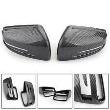 Carbon Fiber Rearview Mirror Cover Fit Mercedes Benz CLA GLA W212 W212 W221 W204
