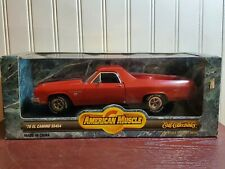 Ertl American Muscle 1970 Chevy El Camino SS 454 1:18 Scale Diecast Car Red