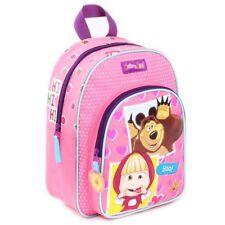 Rucksack Kinder   31 x 25 cm   Mascha und der Bär   Mädchen Tasche