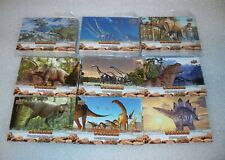 DINOSAURS Complete Base Set  Upper Deck 100 cards  T-REX +++