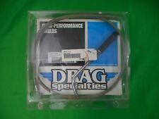 """NOS Drag Specialties Braided Stainless Steel Idle Cable 37.9"""" 0651-0244 OEM"""