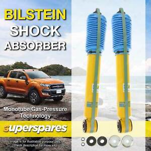 Pair Rear BILSTEIN Shock Absorbers for MITSUBISHI PAJERO NM NP NS NT 2000 ON