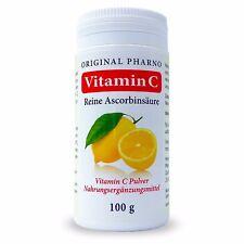 Vitamin C Pulver - Reine Ascorbinsäure - Apotheken Qualität 1x 100g | 1er-Pack