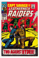 CAPTAIN SAVAGE AND HIS LEATHERNECK RAIDERS #3, SILVER AGE, VG+, 1968