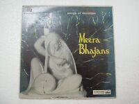 MEERA BHAJANS sandhya mukherji pratima suman  RARE LP vinyl devotional hindi vg+