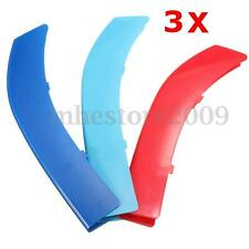 Car Front Grill Bar M 3 Colors Cover Decal Buckle Sticker For BMW 5 Series