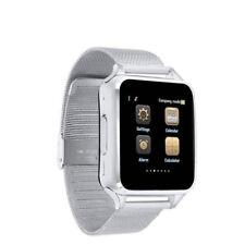 Premium SmartWatch S8 SILBER Bluetooth Uhr iOS Android Samsung SIM Metall SILVER