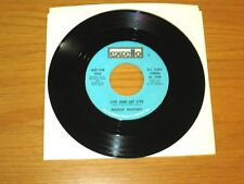 "PROMO SOUL 45 RPM - MARVA WHITNEY - EXCELLO 2328 - ""LIVE AND LET LIVE"""
