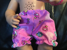 "Fits 15""-16"" Baby Alive Girl Doll CLothes Bloomer Underwear Panties Diaper Cover"