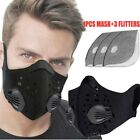 Anti Air Pollution Face Mask Cardio Running Cycling Fitness Gym Workout Mask
