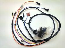 1968 1969 Chevelle El Camino Engine Wiring Harness Warning Lights 396 HEI