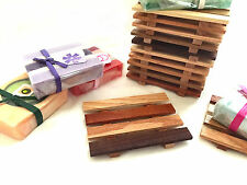 15 reclaimed wood soap dishes - JUST $1.09 each - handcrafted in the USA