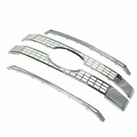 Fits 17-19 Ford F250 F350 F450 F550 Super Duty Chrome Platinum Style Grille