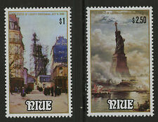 Niue  1986   Scott #   517-518     Mint Never Hinged Set