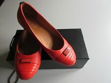 "Women's Shoe : RUDSAK  ""Alysa"" Chili Red Leather Ballet Flats  Sz 6  # 8213017"