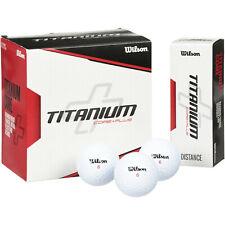 Nip Wilson Titanium Core Plus Distance Golf Balls 6, 3 Ball Sleeves = 18 Balls