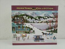 Hometown Collection 1000 Piece Puzzle Pine Ridge Lodge New Free Shipping