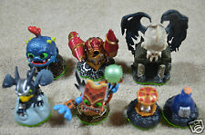 Skylanders Series 1 Figures +Drill Sergent +Double Trouble +Sonic Boom  + 4 more