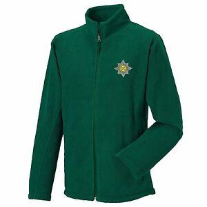 Irish Guards Full Zip Fleece Embroidered Logo
