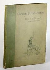 VICTORIAN CHILD LIFE 1890 LONDON STREET ARABS MRS H M STANLEY DOROTHY TENNANT