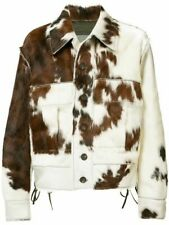 Real Cow Pony Skin Leather Jacket Premium Quality Leather Product