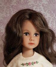 """Ashton Drake Gallery Doll 12 """", vinyl,  sculpture by Dianna Effner, dress Boneka"""