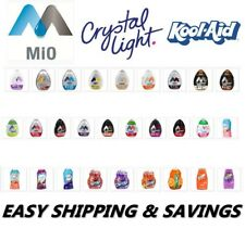 MIO KOOLAID CRYSTAL LIGHT TANG CRUSH WATER ENHANCERS PACK OF 2 EASY