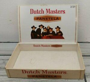 Dutch Masters Perfecto 50 Cigar Box Vintage Used Condition