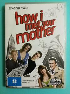 How I Met Your Mother DVD Complete Season 2 TV 3 discs R4 Very Good Condition