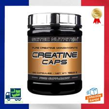 Creatine Caps 250 Gélules Scitec Nutrition Force Volume recuperation Musculation