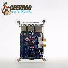 HiFi DAC+ Sound Card + Acrylic Case Kit for Raspberry Pi 2B B+|GeekrooI2S|Audio