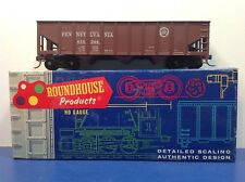 "HO Scale ""Pennsylvania Railroad"" PRR 675344 3-bay Open Hopper Freight Train Car"