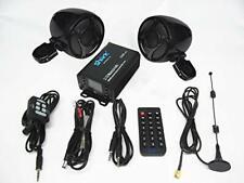 Shark motorcycle audio 2.1 ch 250W motorcycle audio with waterproof speakers