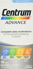 Centrum Advance Multivitamínico comprimidos, 100-Conde