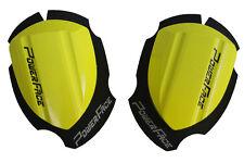 Knieschleifer Holz Racing neon gelb Motorrad