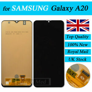 For Samsung Galaxy A20 A205F TFT LCD Display Touch Screen Digitizer Replacement