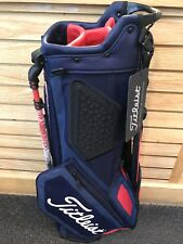 ***BRAND NEW*** 2018 Titleist Players 4 Golf Stand Bag - Navy/Red