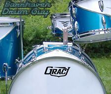 Gracy, 60s/70s Vintage, Repro Logo - Adhesive Vinyl Decal, for Bass Drum