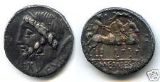 REPUBLIQUE ROMAINE C. MEMMIUS L.f. GALERIA (87 Av J.C) DENIER !!!!!