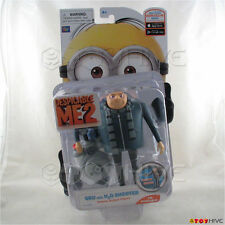 Despicable Me 2 Gru with H2O Shooter deluxe poseable action figure Thinkway worn