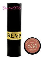 REVLON Super Lustrous Lipstick Pearl #634 SPARKLING CIDER