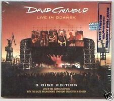 2 CD + DVD DAVID GILMOUR LIVE IN GDANSK SEALED