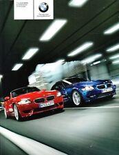 2006 06 BMW Z4  M Z4M Series original sales Brochure