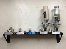 Dillon XL650 Toolhead Rack Wall Mounted Storage Stands for 5 Toolheads Reloading