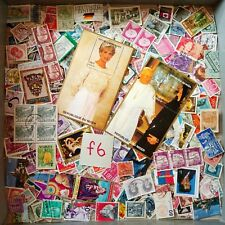 World Mix Stamps 500 pcs lot F6 with Diana BM40