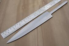 "13"" custom made big hunting spring steel gurman dagger knife blank blade"